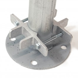 """Bufftech 4"""" x 4"""" Post EZ Set Brackets for 1-5/8"""" Round Post (Post Not Included)"""