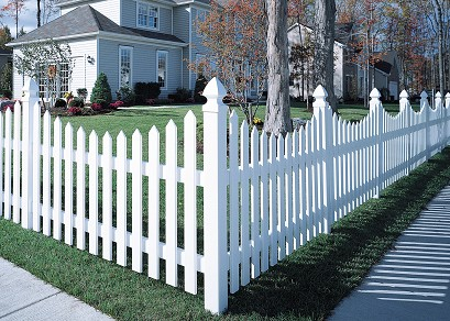 Bufftech Concave Cape Cod Fence
