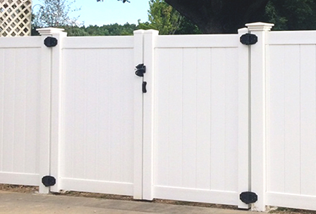 Vinyl Fence and Gate Hardware